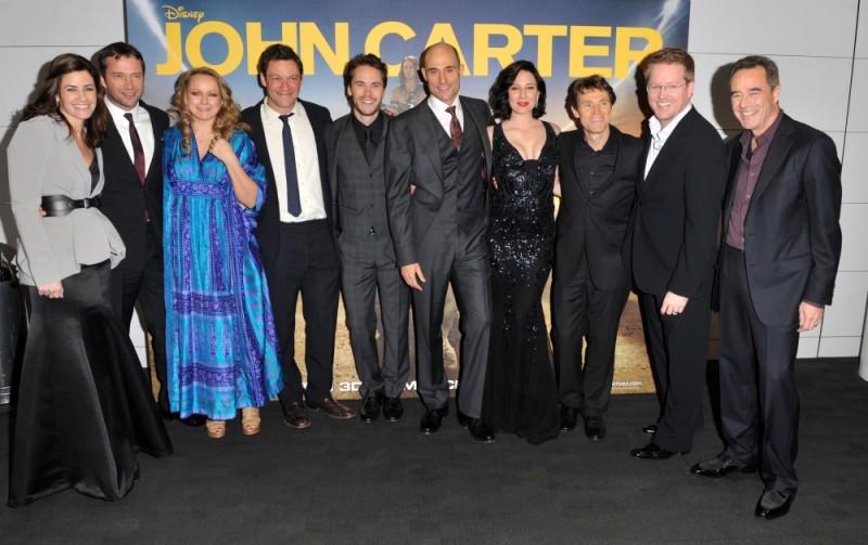 Il cast di John Carter sul red carpet della première londinese
