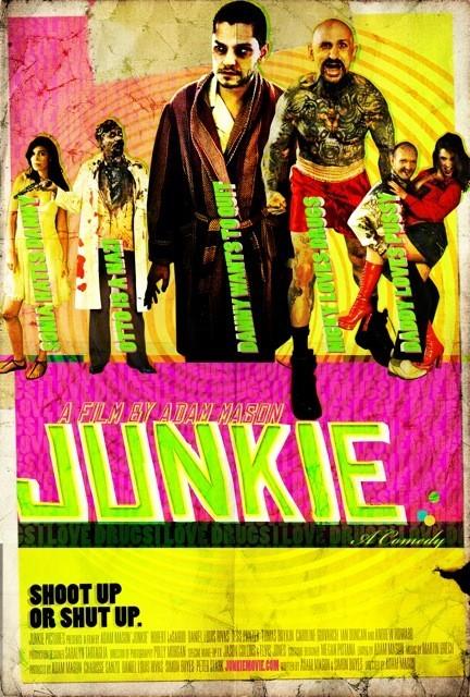 Junkie: la locandina del film
