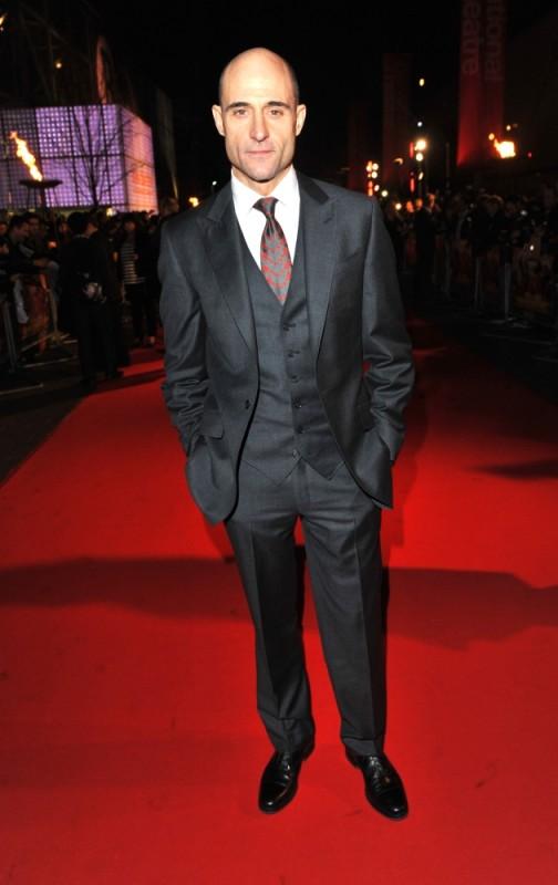Mark Strong sul red carpet della première londinese di John Carter