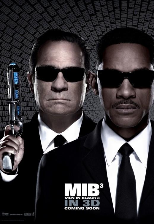 Men in Black 3: nuovo poster - versione 2