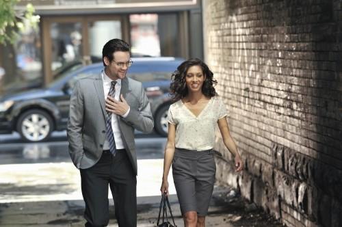 Nikita: Rekha Sharma e Shane West nell'episodio Knightfall