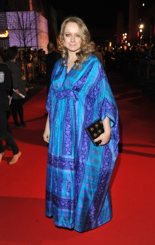 Samantha Morton sul red carpet londinese della première di John Carter