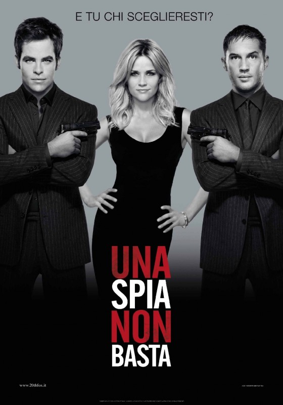 Una spia non basta: la locandina italiana del film