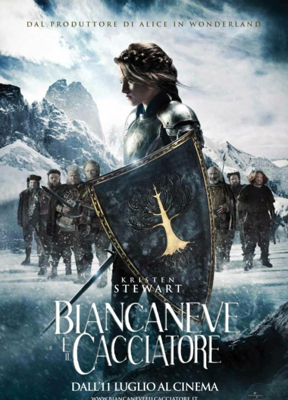 Biancaneve e il cacciatore: il poster italiano con Kristen Stewart