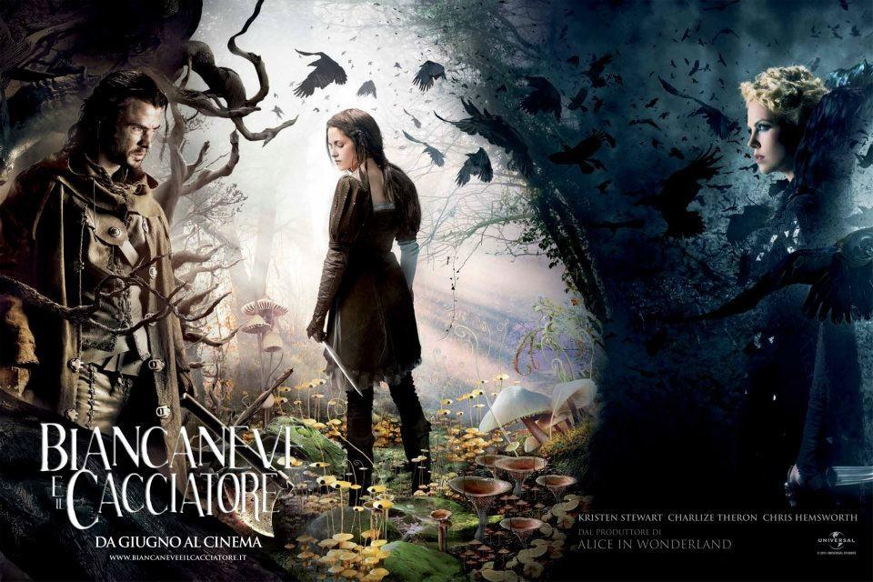Biancaneve e il cacciatore: il wallpaper italiano del film