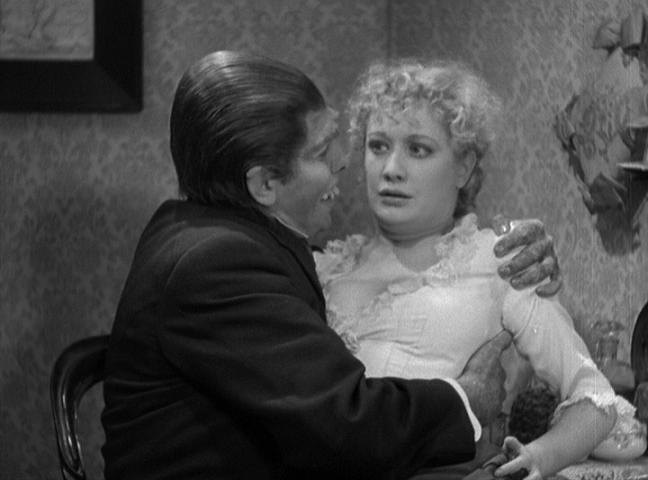 Fredric March e Miriam Hopkins in una sequenza de Il dottor Jekyll
