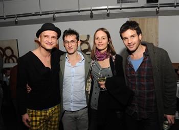 Mihai Chirilov, Paolo Lagana, Santiago Cabrera