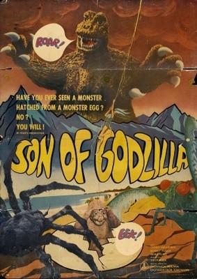 Il figlio di Godzilla: la locandina del film