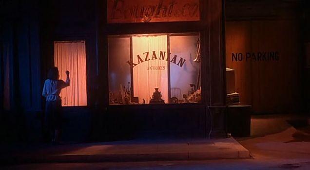 Il negozio di Kazanian in 'Inferno' di Dario Argento