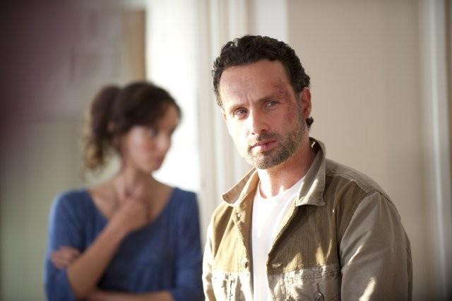 The Walking Dead: Andrew Lincoln e Sarah Wayne Callies nell'episodio La sentenza