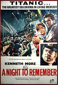 Titanic latitudine 41 Nord: la locandina del film