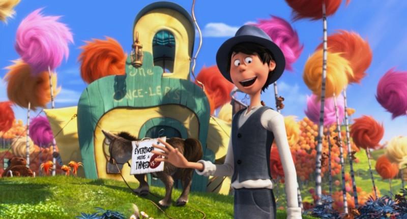 Lorax - Il guardiano della foresta: il giovane Onceler si stabilisce nella Valle di Truffula per perfezionare la sua invenzione
