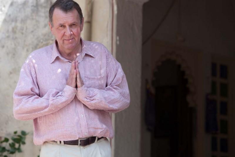 Marigold Hotel: Tom Wilkinson sul set del film