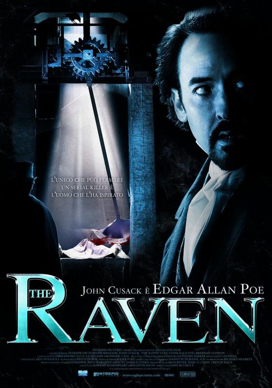 The Raven: la locandina italiana del film