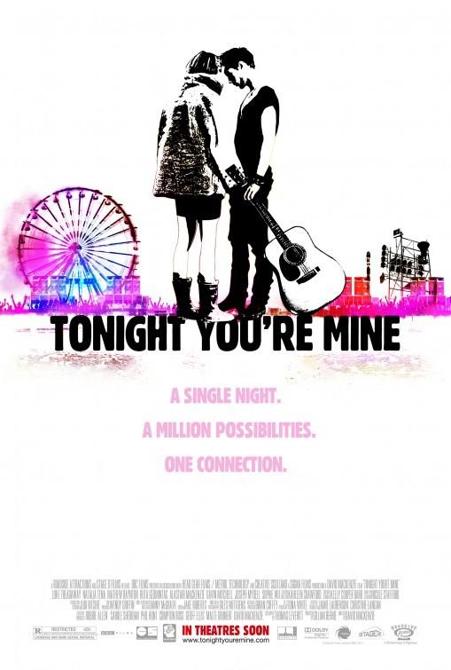 Tonight You're Mine: la locandina del film