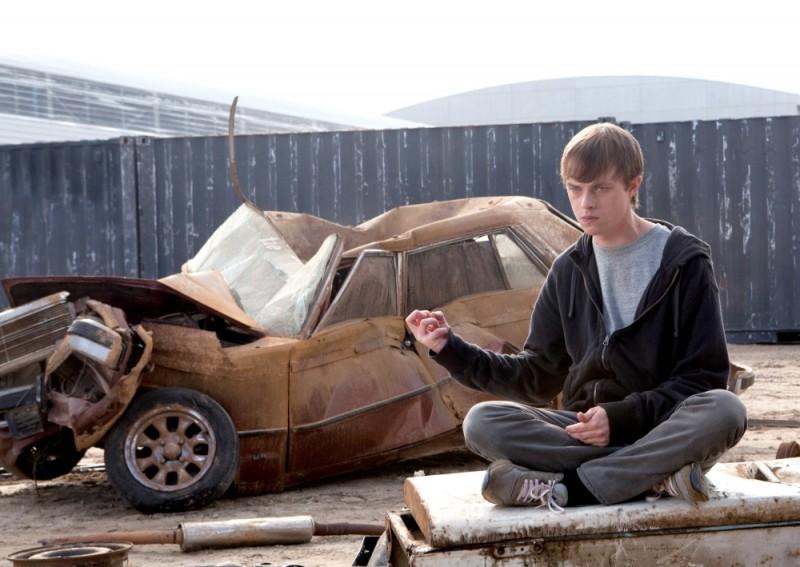Chronicle: Dane DeHaan in un momento del film