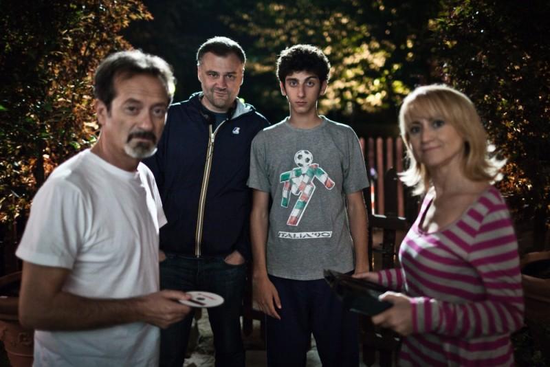 E' nata una star?: Rocco Papaleo, Luciana Littizzetto e Pietro Castellitto sul set insieme al regista Lucio Pellegrini