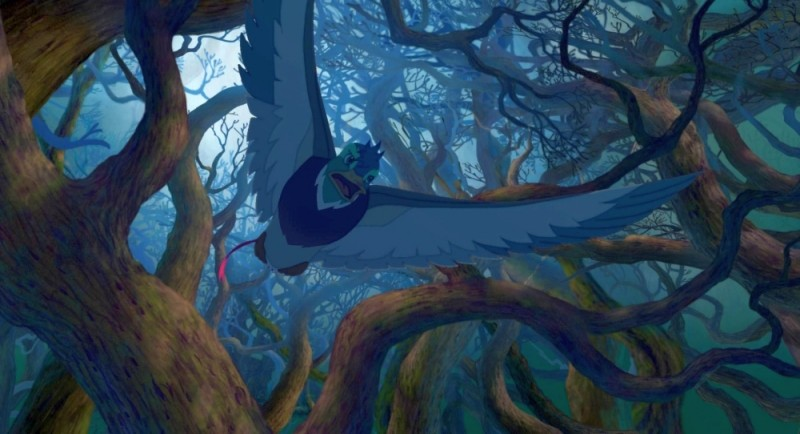 Leafie - La storia di un amore: una scena del film d'animazione diretto da Seong-yun Oh