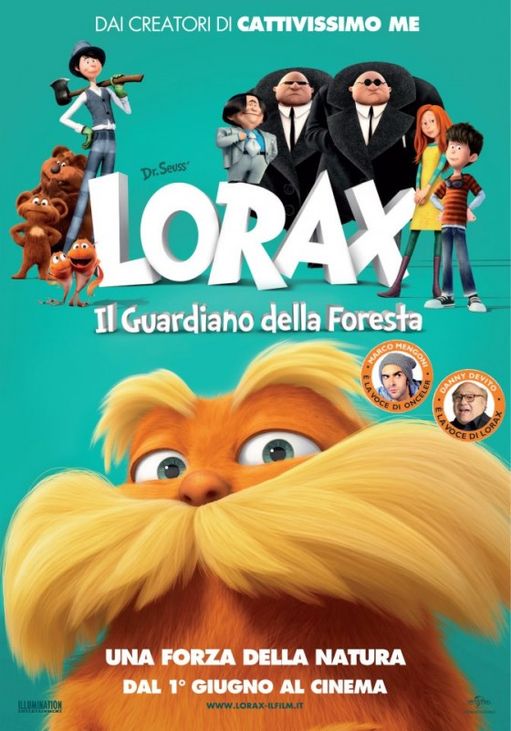 Lorax - Il guardiano della foresta: la nuova locandina italiana del film