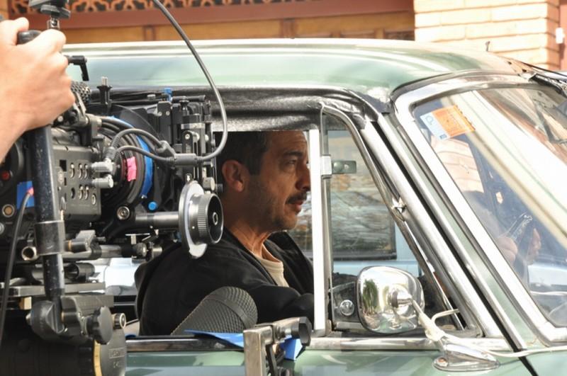 Ricardo Darin sul set di Cosa piove dal cielo?