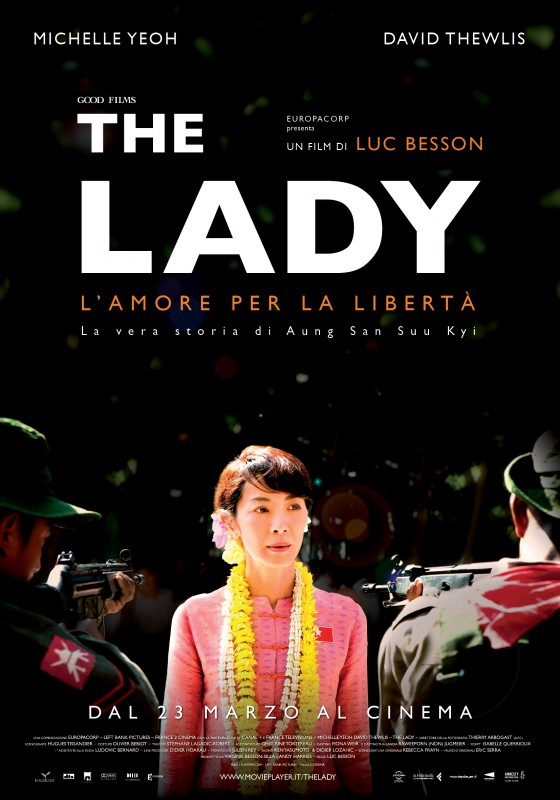 The Lady: la locandina italiana del film