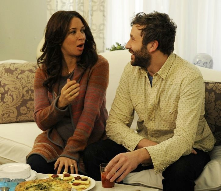 Chris O'Dowd con Maya Rudolph in Friends With Kids