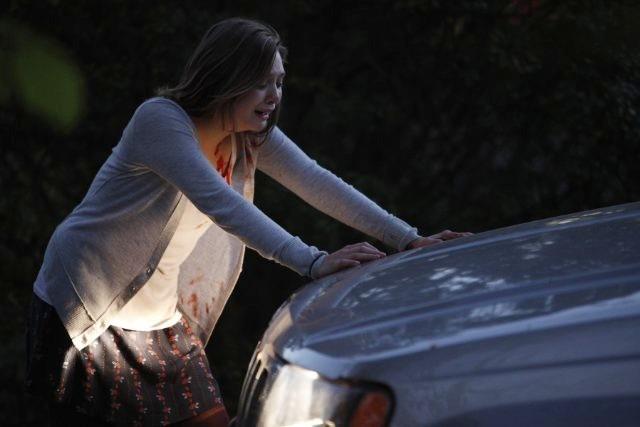 Elizabeth Olsen è Sarah nel film Silent House.