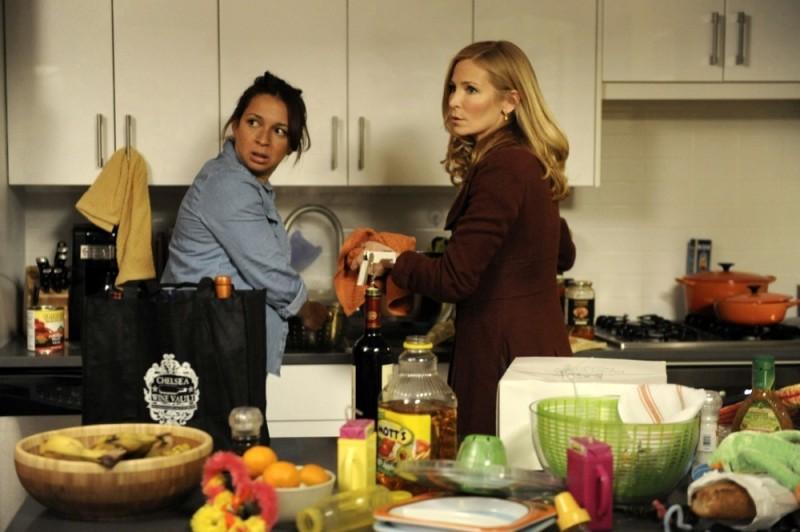 Maya Rudolph e Jennifer Westfeldt in Friends With Kids