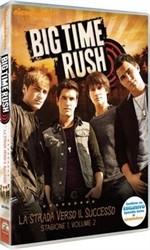 La copertina di Big Time Rush - La strada verso il successo - Stagione 1 Volume 2 (dvd)
