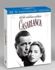 La copertina di Casablanca - 70° anniversario (blu-ray)