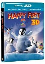 La copertina di Happy Feet 2 in 3D (blu-ray)
