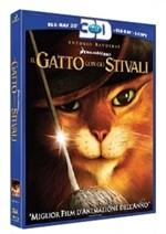 La copertina di Il gatto con gli stivali 3D (blu-ray)