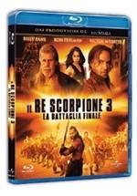 La copertina di Il Re Scorpione 3 - La battaglia finale (blu-ray)