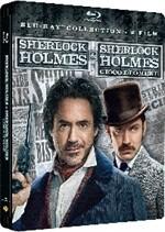 La copertina di Sherlock Holmes + Sherlock Holmes: Gioco di ombre (blu-ray)