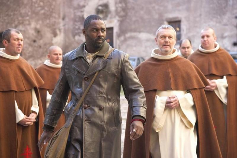 Ghost Rider: Spirito di vendetta, Idris Elba in una scena del film