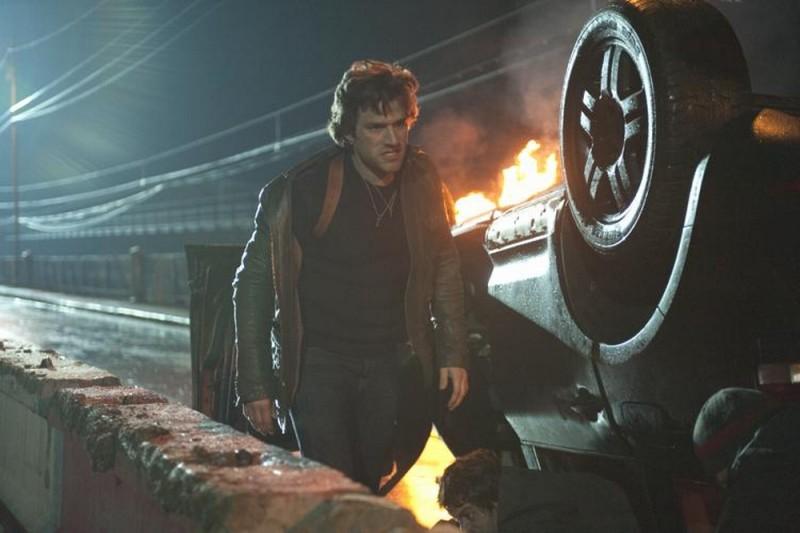 Ghost Rider: Spirito di vendetta, Johnny Whitworth in una scena tratta dal film