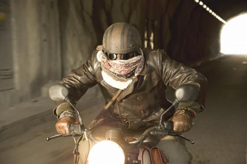 Ghost Rider: Spirito di vendetta, una scena tratta dal film