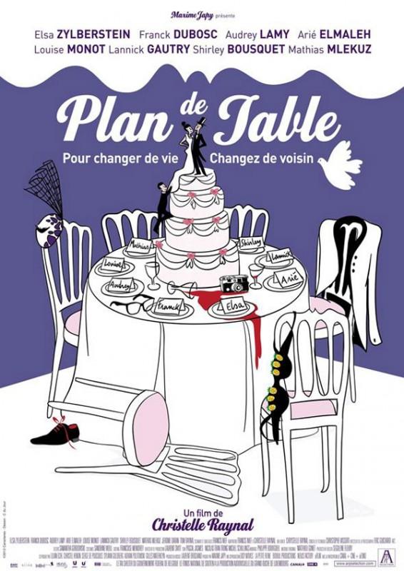 Plan de table: la locandina del film