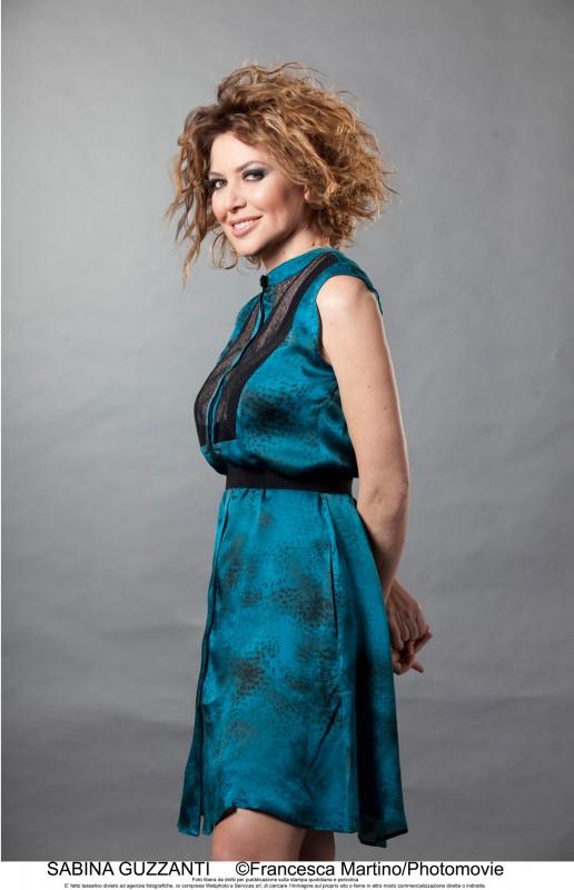 Un due tre stella: una foto promozionale di Sabina Guzzanti per la sua nuova trasmissione