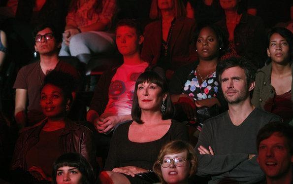 Anjelica Huston e Jack Davenport: foto di scena della serie TV Smash, prima stagione