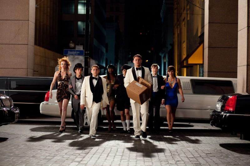 Channing Tatum e Jonah Hill (al centro) in 21 Jump Street