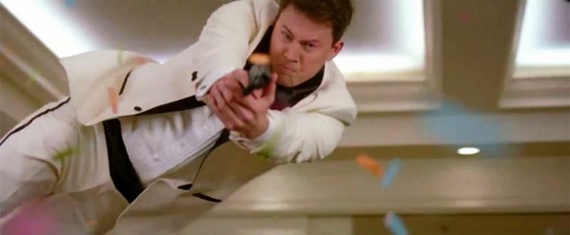 Channing Tatum in azione nel fil 21 Jump Street, del 2012
