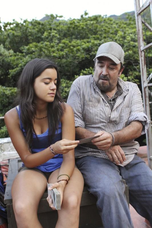 Daniel Zacapa nella serie tv The River con Paulina Gaitan, episodio A Better Man