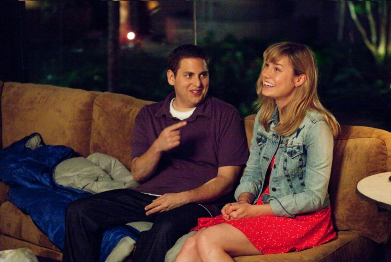 Jonah Hill in 21 Jump Street accanto a Brie Larson