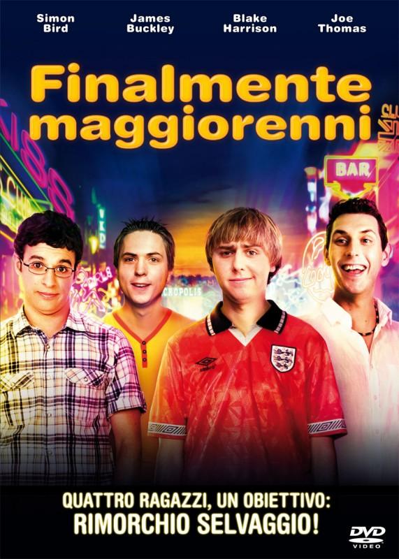 La copertina di Finalmente maggiorenni (dvd)