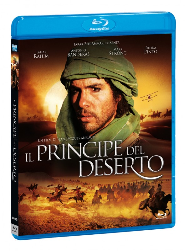 La copertina di Il principe del deserto (blu-ray)