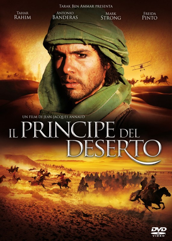 La copertina di Il principe del deserto (dvd)