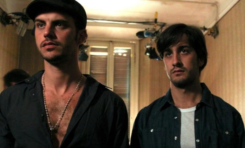 Poker Generation: Andrea Montovoli e Piero Cardano in una scena del film
