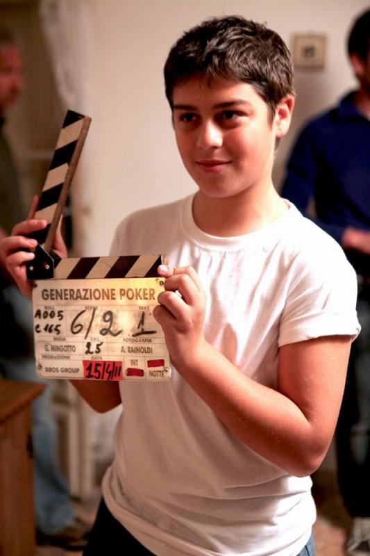 Poker Generation: Andrea Pannofino sul set del film