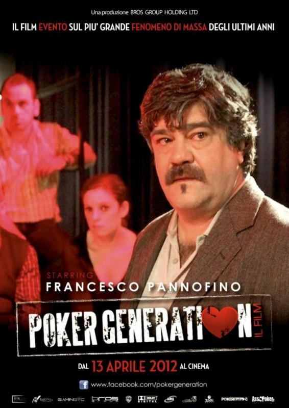 Poker Generation: la locandina del film con Francesco Pannofino
